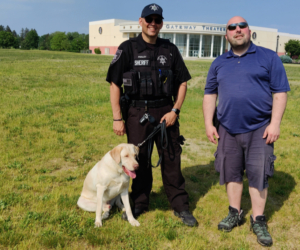 West Virginia Sheriff's Office Dog